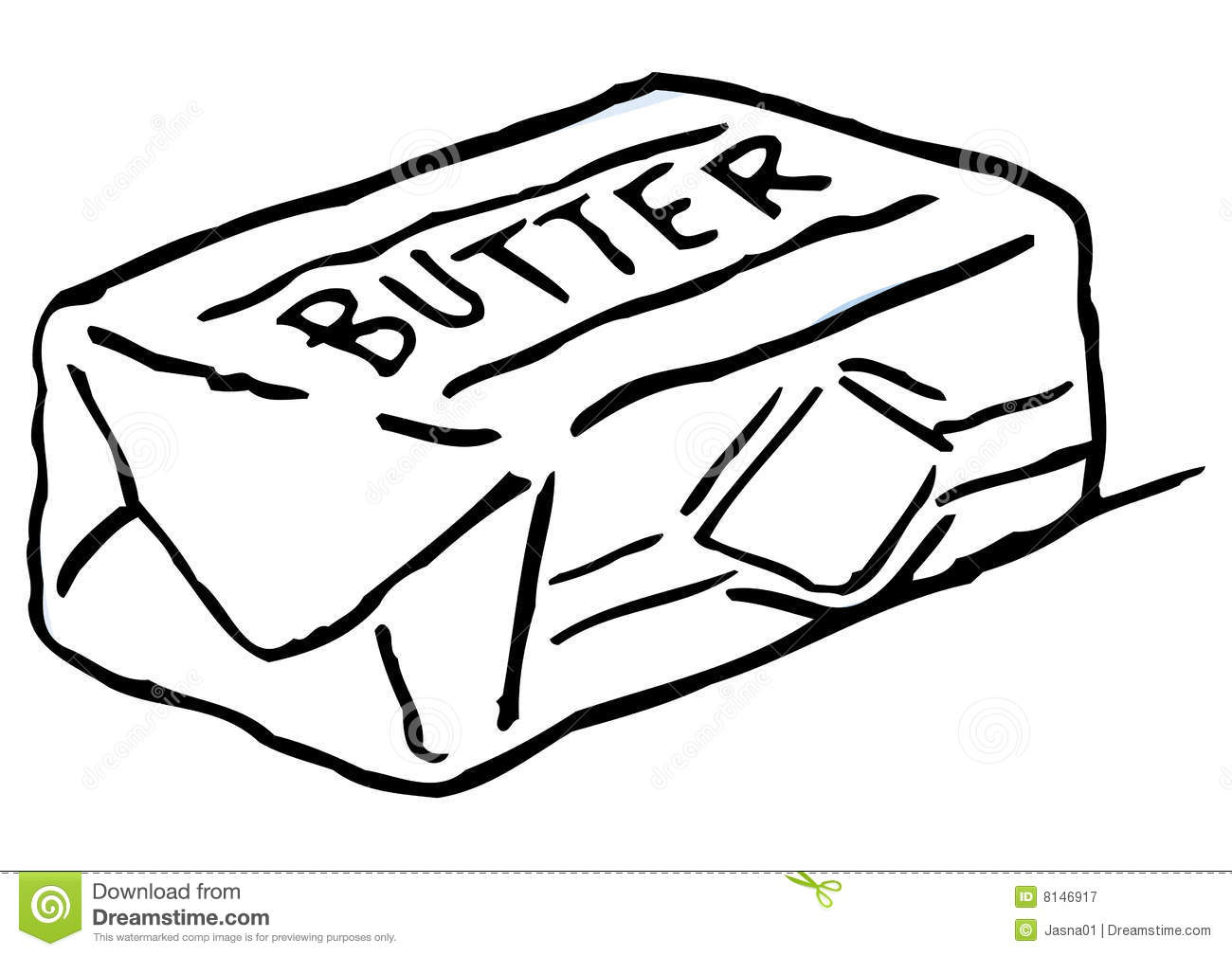 Butter clipart curl Free Butter Images Free Art
