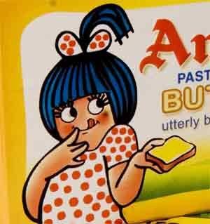 Butter clipart amul Canada up Girl girl trotting