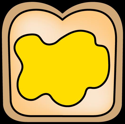 Peanut Butter clipart bread clipart Best art Butter and Butter