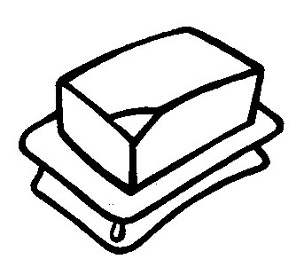 Butter clipart coloring Crafts pages coloring butter Worksheets