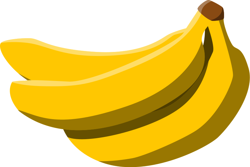 Banana clipart individual On Clipart  Of Art
