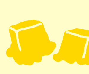 Butter clipart melted butter Clipart The melting melting by