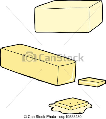 Butter clipart melted butter Stick Cartoons Butter as and