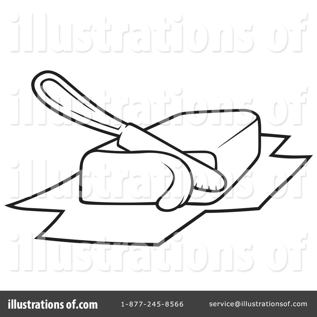 Butter clipart outline By Illustration #1051415 #1051415 dero