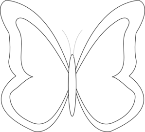 Butter clipart outline Clipart Free Butterfly clipart%20butterfly%20outline Clipart