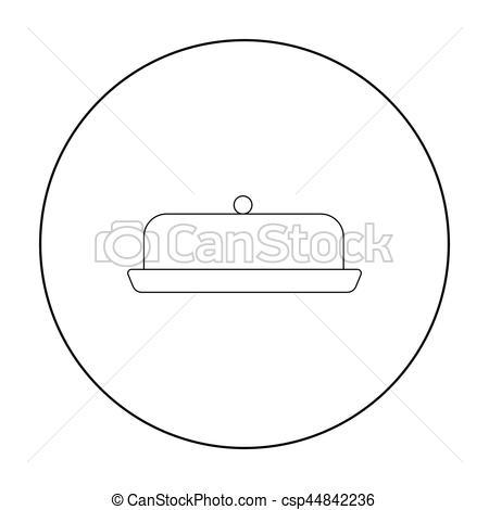 Butter clipart outline  product Butter Single product