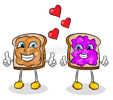 Peanut Butter clipart cartoon Clip Jelly and and