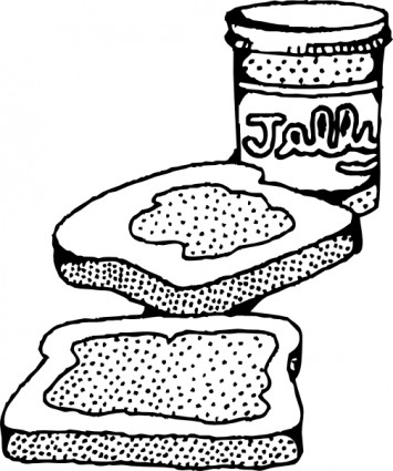 Peanut Butter clipart cartoon Jelly Free Panda Clipart And