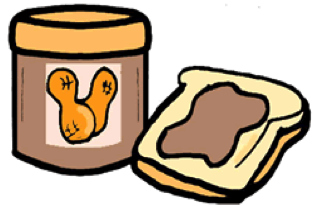 Peanut Butter clipart bread clipart The spread down Butter: get