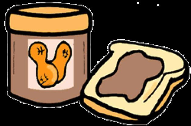 Peanut Butter clipart bread clipart Praising on down Butter: Butter:
