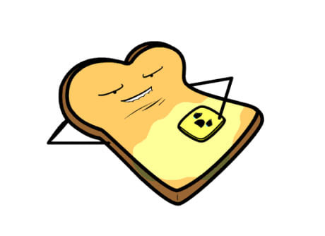 Butter clipart toast On toast Butter on 9GAG