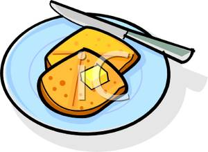 Butter clipart toast English Muffin Clip Art Toasted