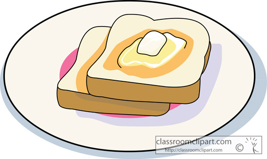 Butter clipart toast Classroom : Clipart toast_with_melted_butter toast_with_melted_butter