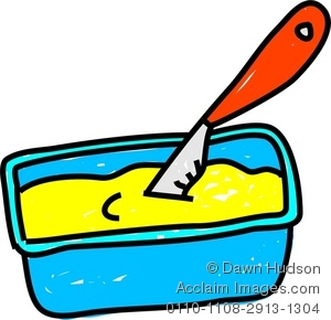 Butter clipart tub Drawing Whimsical Butter of A