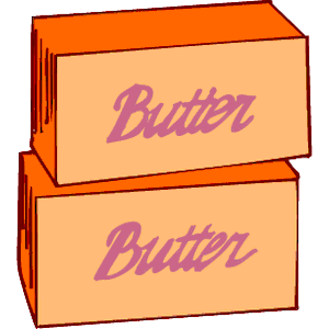 Butter clipart vector Eps free of  Tags: