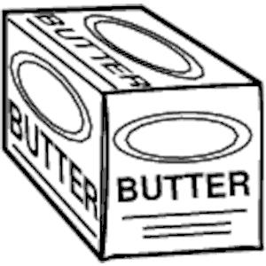 Butter clipart vector Download Butter  Art Free
