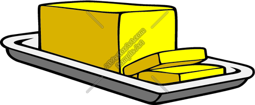 Butter clipart vector Free Clipart stick%20of%20butter%20clipart Of Images
