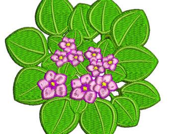 Buttercup clipart african violet Vp3 pec Etsy Violets jan