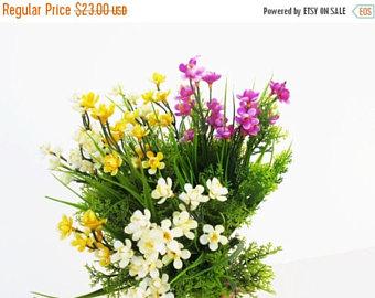 Buttercup clipart african violet Branches Orchids Bush Etsy bouquet