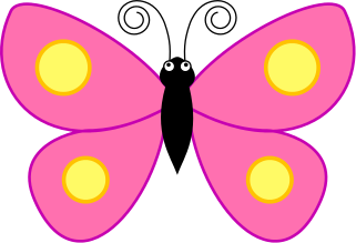Bugs clipart butterfly Panda Butterfly pink%20butterfly%20clipart Clipart Images