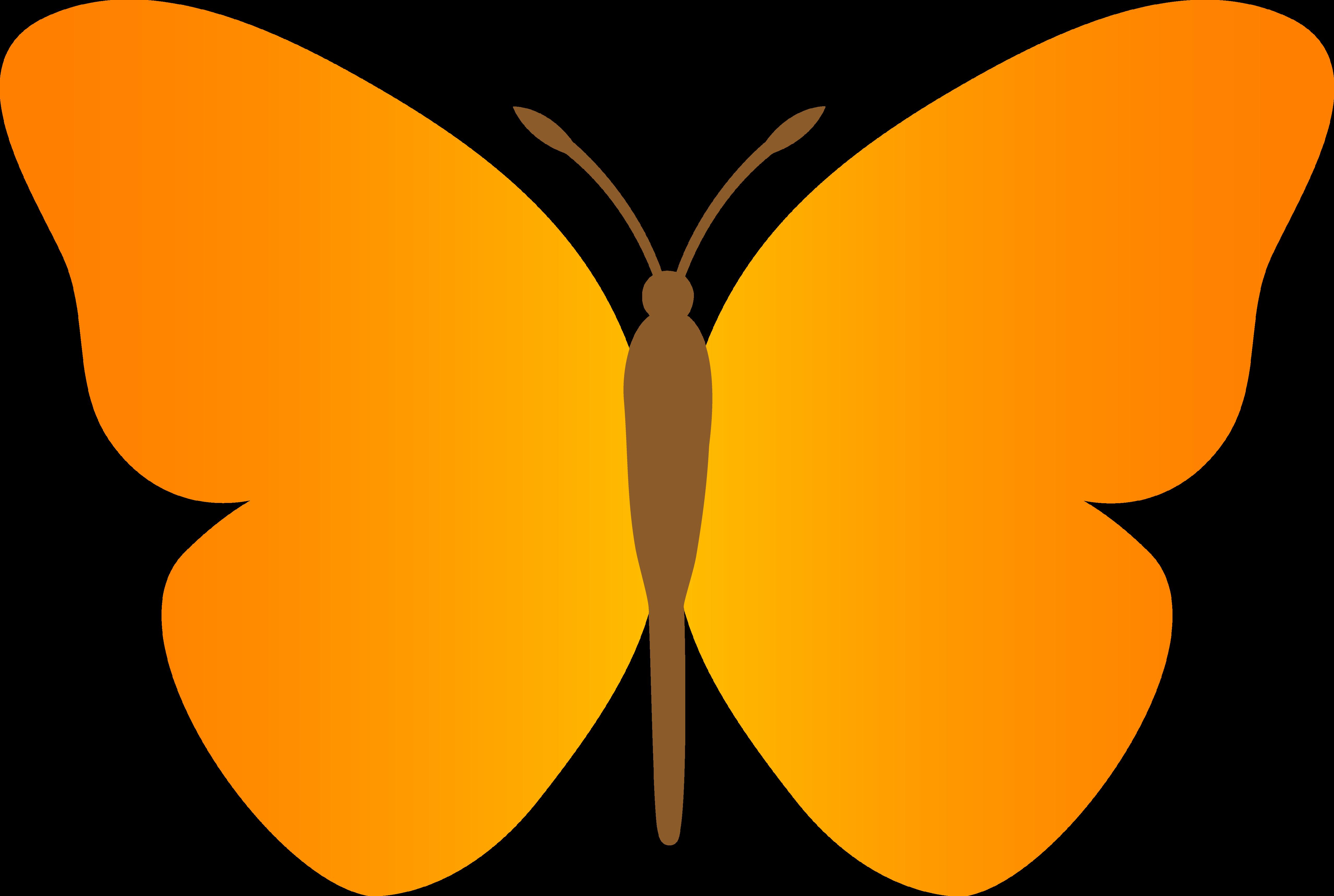 Gown clipart butterfly Butterfly Butterfly 3 Clipart #9492