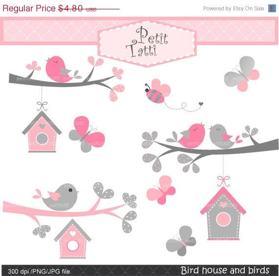 Bird clipart butterfly ON The clip SALE ideas