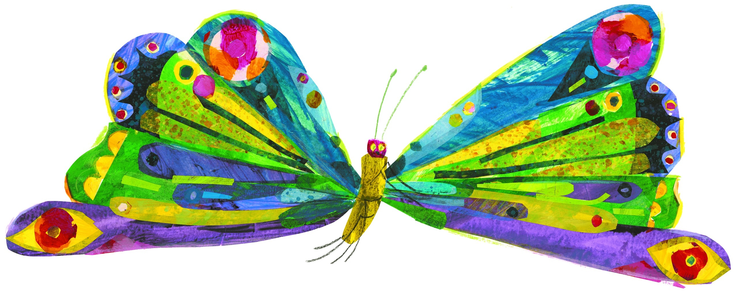 Bobook clipart the very hungry caterpillar Clipart Hungry butterfly clipart butterfly