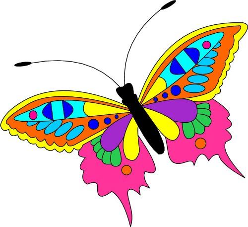 Butterfly clipart mariposa  Mariposa Liberata's fly! Fly