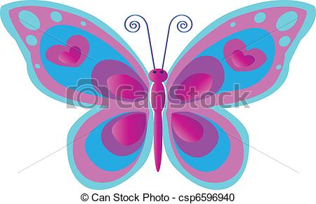 Butterfly clipart mariposa Butterfly with Clipart Pink blue