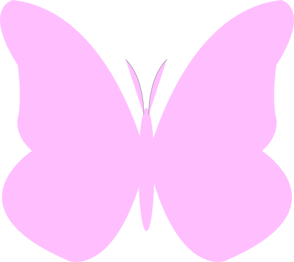Butterfly clipart pink baby Light art photo#7 clip Pink
