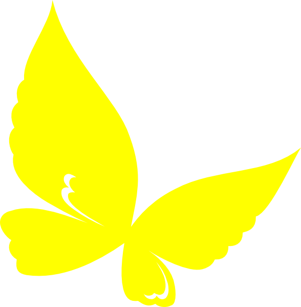 Gallery clipart yellow butterfly Butterfly Yellow vector Art Clipart