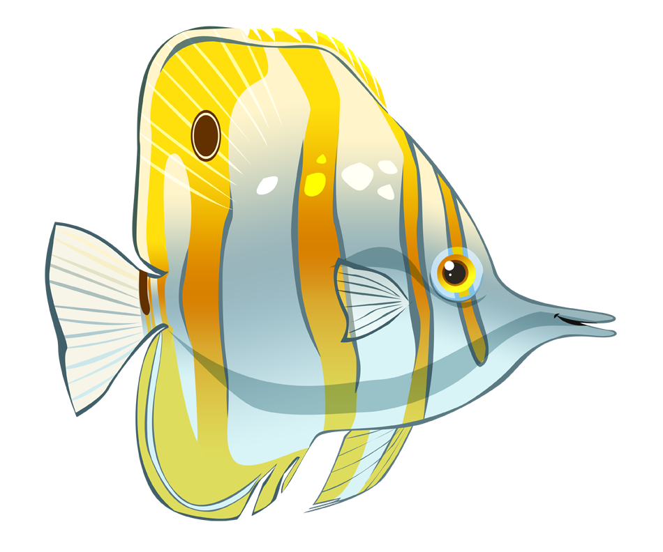 Butterflyfish clipart Image Cartoon  Free Butterfly