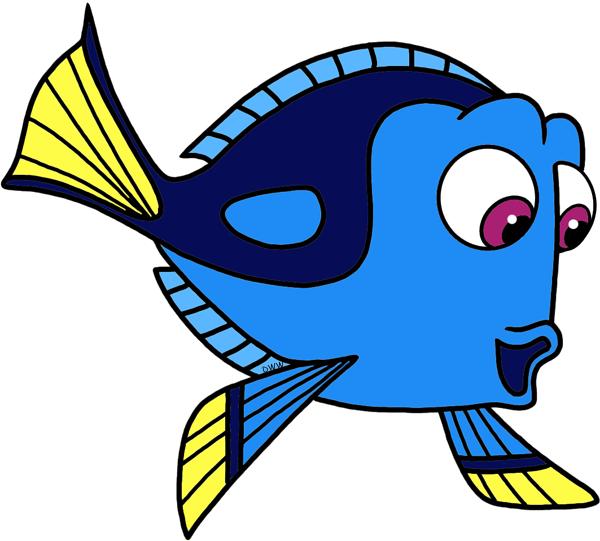 Butterflyfish clipart color fish Cute clipart clipart dori dori
