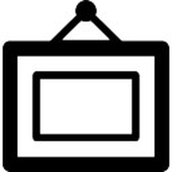 Button clipart art frame Files EPS PNG in hanged