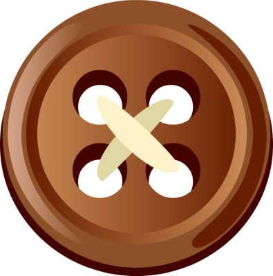 Button clipart brown Button on and Yellow Button