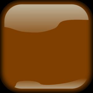 Button clipart brown Art Clip Square Locked Art