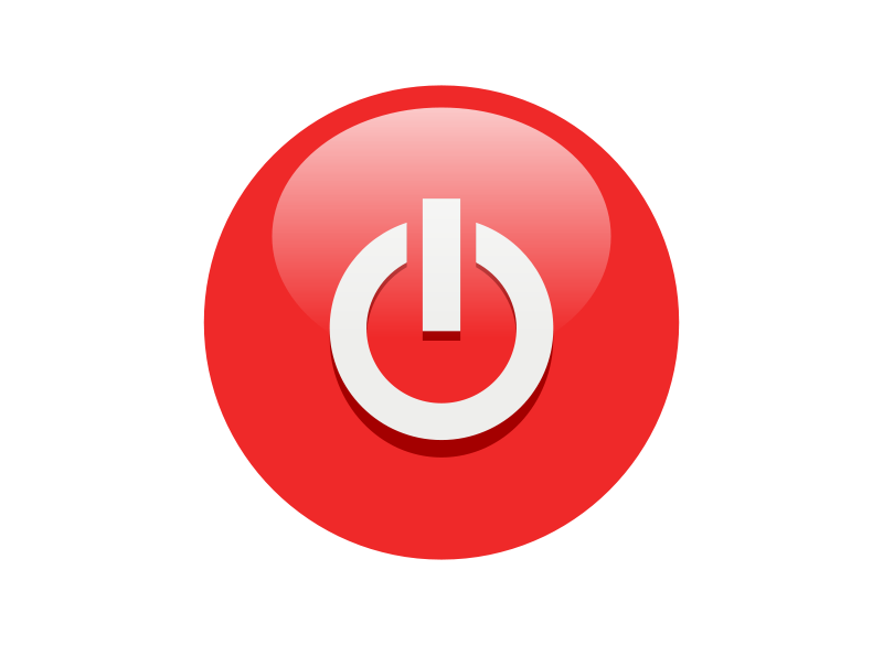 Button clipart computer power On Download Computer Power –