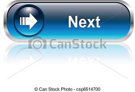 Button clipart next Of icon  Next Vector