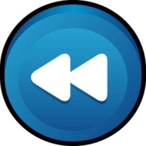 Button clipart rewind  Rewind Clker vector Free