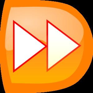 Button clipart rewind Online Orange at com Orange