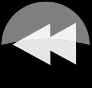 Button clipart rewind Clip Preview Clip at Black