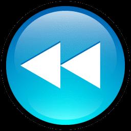 Button clipart rewind Rewind Iconset Icon Button Hopstarter