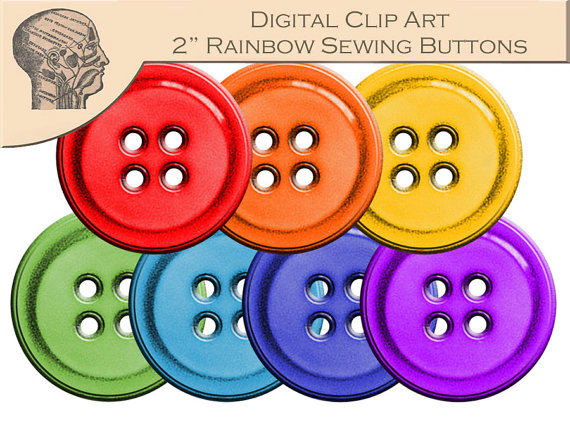 Button clipart sewing button Sewing on Format PNG Button