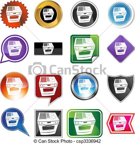 Button clipart stove Stove Stove button web background
