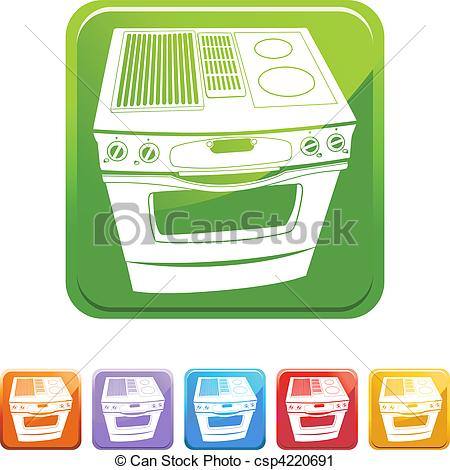 Button clipart stove Stove of web Stove