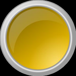 Button clipart yellow Yellow Art Art Glossy vector