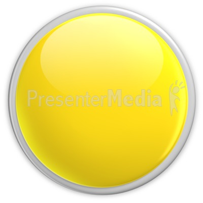 Button clipart yellow Blank Button PowerPoint Badge Symbols