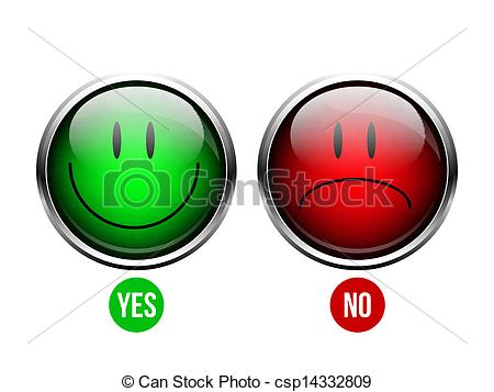 Button clipart yes Of Yes  Art Clipart