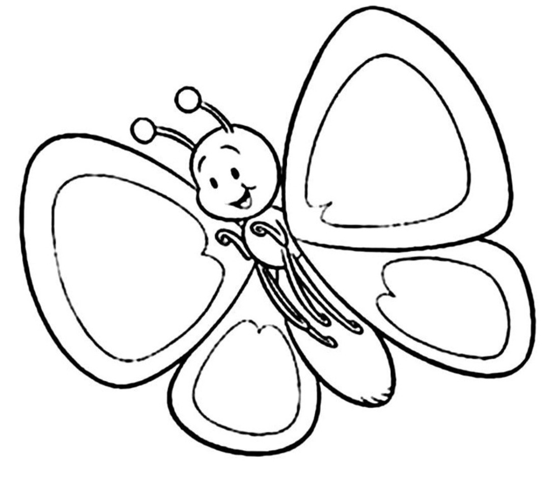 Cartoon clipart black and white Butterfly Butterfly white clipart Butterfly