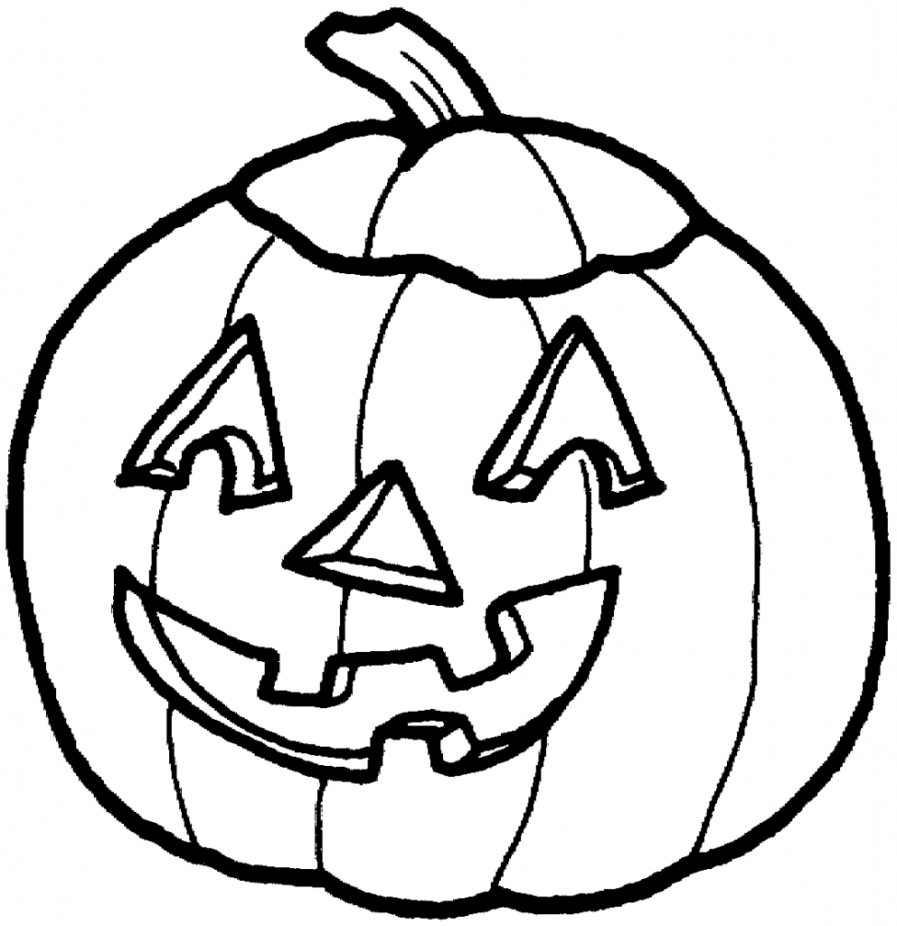 Black & White clipart halloween Pumpkin white collection black And